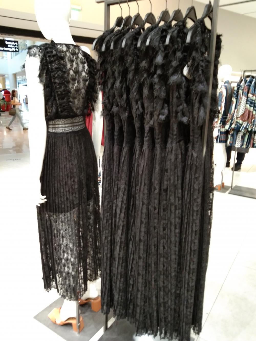Black dress, Clothing