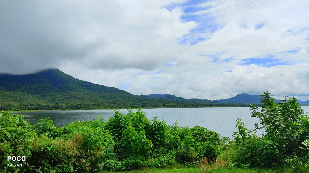 Rainy Weather, Peaceful,weather,wind,cloudy,weather,hill,river,natural,