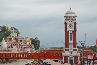 Clocktower, Clock tower, River Ganges, Haridwar, Piligrimage, identity