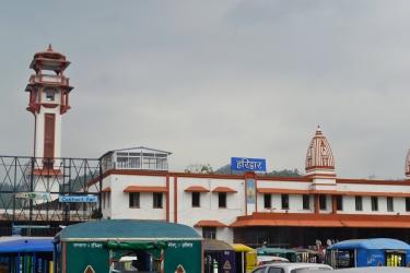 Railway Station at Haridwar, Railway Station, Haridwar, starting place for Chardham, Piligrimage