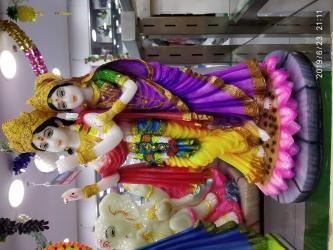 Radha Krishnan Statue